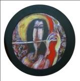 Artist: Dhiraj Choudhary<br> Title : Untitled<br> Medium: Acrylic on Board<br> Size : Dia 14 inch<br> Year : 2014