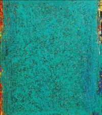 Artist: Kalicharan Gupta<br> Title : Celebration-1<br> Medium: Acrylic on canvas<br> Size : 60 X 55 inches<br> Year : 2017