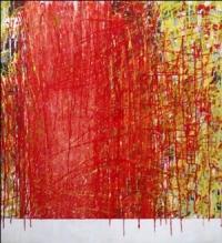 Artist: Kalicharan Gupta<br> Title : Metropolitan series<br> Medium: Acrylic on canvas<br> Size : 36 X 33 inches<br> Year : 2010