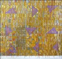 Artist: Kalicharan Gupta<br> Title : Trapezium-1<br> Medium: Acrylic on canvas<br> Size : 55 X 60 inches<br> Year : 2010