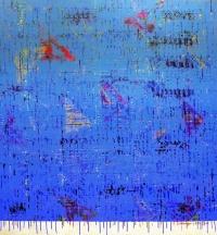 Artist: Kalicharan Gupta<br> Title : Untitled<br> Medium: Acrylic on canvas<br> Size : 55 X 50 inches<br> Year : 2008
