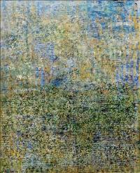 Artist: Sangeeta Gupta<br> Title : Gentle Gesture <br>Flowing Line, Silken Movement <br> Medium: Acrylic on canvas<br> Size : 40 x 50 inches<br> Year : 2010 (1)
