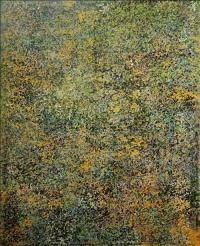 Artist: Sangeeta Gupta<br> Title : Gentle Gesture <br>Flowing Line, Silken Movement <br> Medium: Acrylic on canvas<br> Size : 40 x 50 inches<br> Year : 2010 (2)
