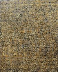 Artist: Sangeeta Gupta<br> Title : Gentle Gesture Flowing Line<br> Silken Movement<br> Medium: Acrylic on canvas<br> Size : 40 x 50 inches<br> Year : 2010