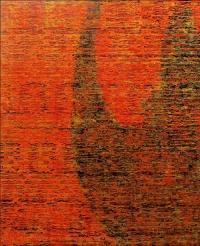 Artist: Sangeeta Gupta<br> Title : Gentle Gesture Flowing Line<br> Silken Movement<br> Medium: Acrylic on canvas<br> Size : 50 x 40 inches<br> Year : 2010