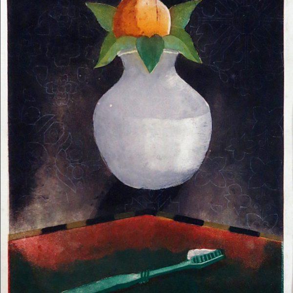 Nirmal Prakash, Untitled, Multiplated etching, 16 x 12 inch