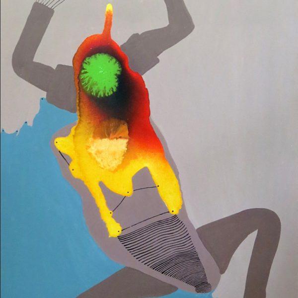 Parth Pratim Deb , Untitled, Acrylic on canvas, 41 x 30 inch, 2007
