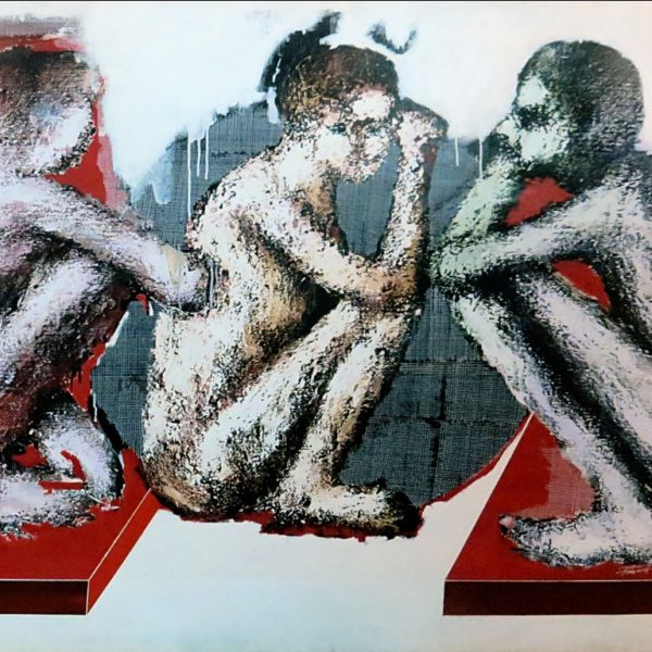 Prasanta Kalita, Untitled, Acrylic on canvas, 52 x 60inch, 2006