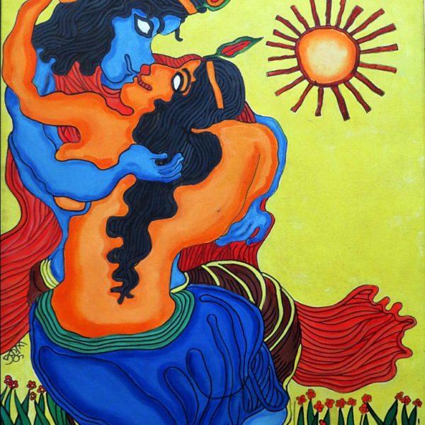 Prokash Karmakar, Untitled, Acrylic on canvas, 40 x 29 inch, 2005